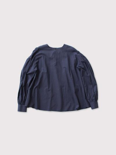 Back gather blouse 1