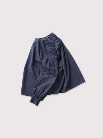 Back gather blouse 2