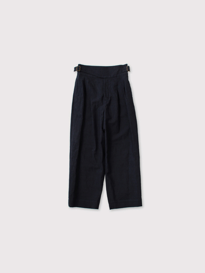 Gurkha belt tuck pants 1