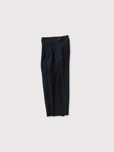 Gurkha belt tuck pants 2