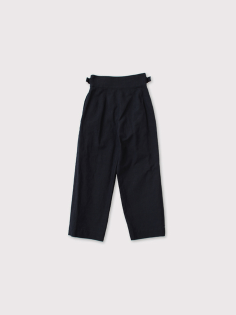 Gurkha belt tuck pants 3