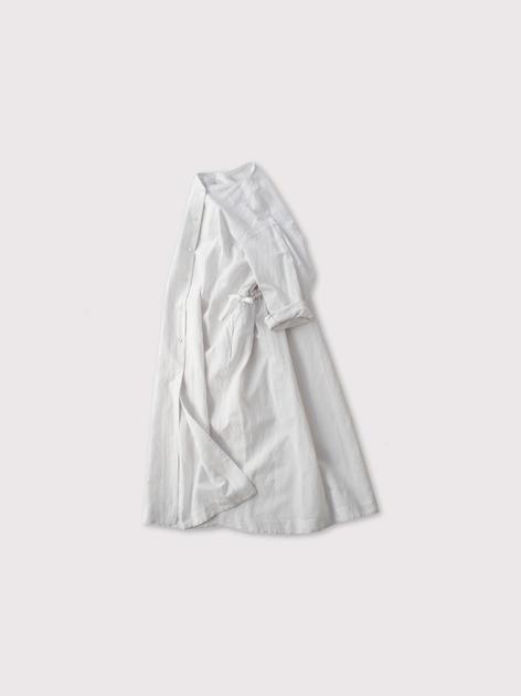 Back string shirt dress【SOLD】 2