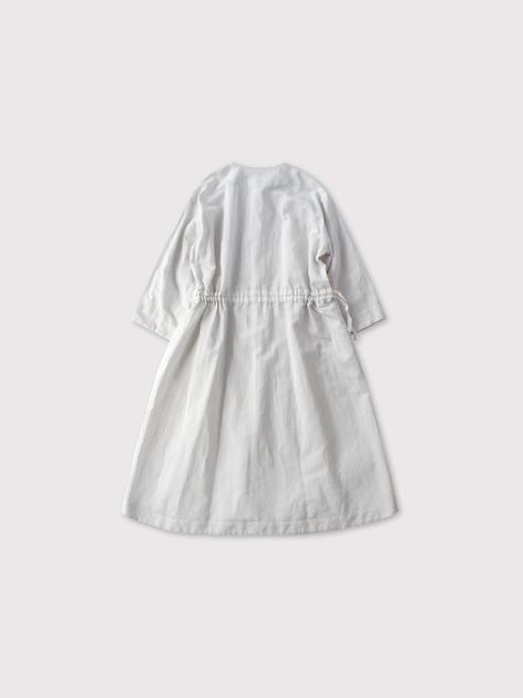 Back string shirt dress【SOLD】 3