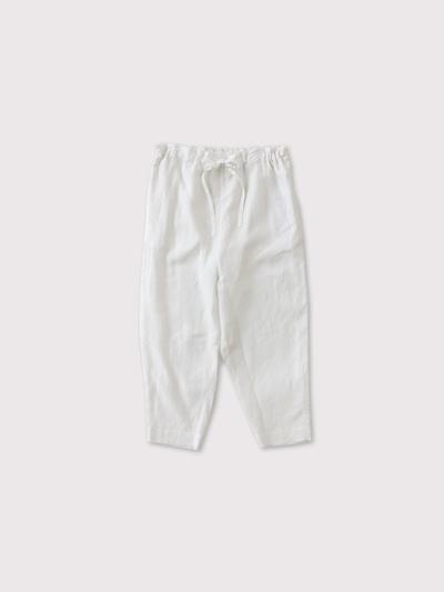 Drawstring pants long 1