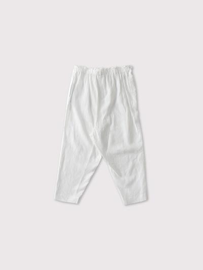 Drawstring pants long 2