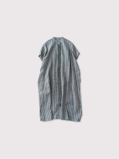 Stand collar sleeveless dress【SOLD】 1