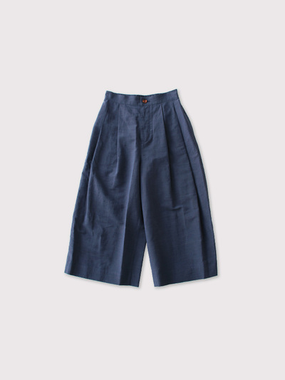 Tuck front culotte pants【SOLD】 1