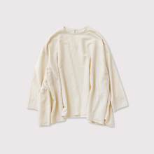 Side gather tent line blouse【SOLD】