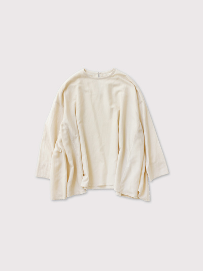 Side gather tent line blouse【SOLD】 1