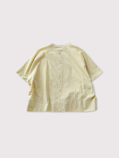 Back open boxy blouse no sleeve【SOLD】 2