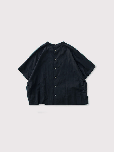 Back open boxy blouse no sleeve【SOLD】 2
