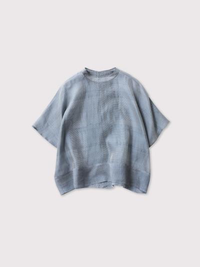 Back open boxy blouse no sleeve 1