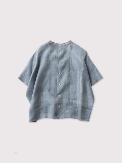Back open boxy blouse no sleeve 2