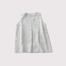 No sleeve slip-on blouse