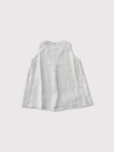 No sleeve slip-on blouse 2