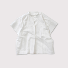 Back tuck stitch sleeve shirt【SOLD】