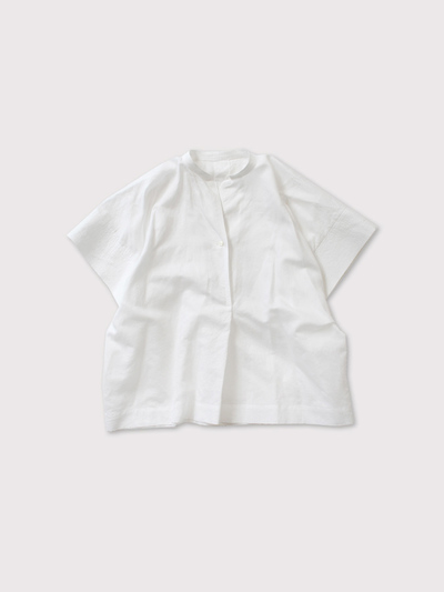 Back tuck stitch sleeve shirt【SOLD】 1