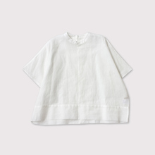 Back open boxy blouse no sleeve 【SOLD】