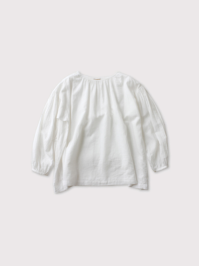 shoulder button gather blouse short 【SOLD】 1