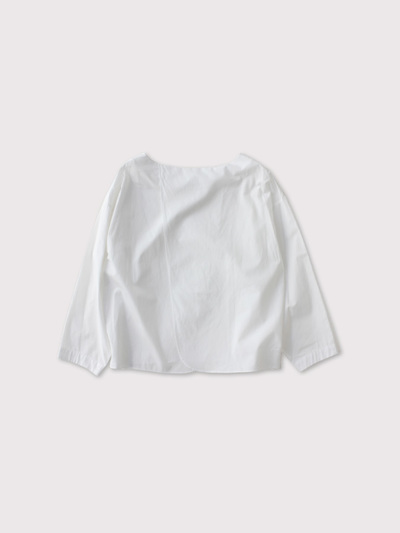 Back layered blouse【SOLD】 2
