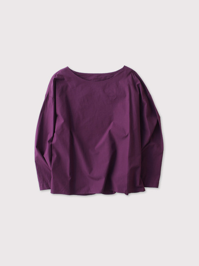 Back layered blouse 1