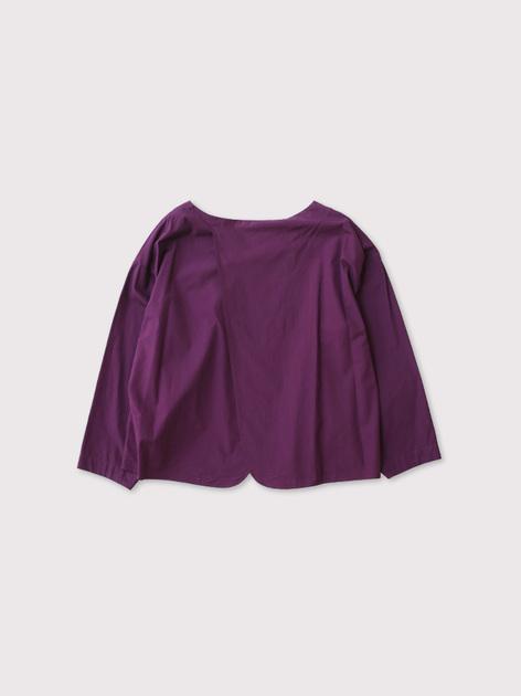 Back layered blouse 2