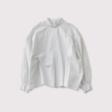 Front box tuck blouse【SOLD】