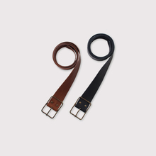 Thin buckle belt M