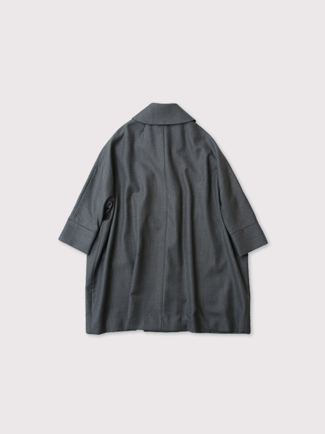 Small collar balloon coat【SOLD】 3