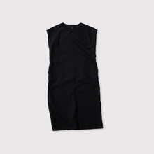 Back yoke slipon dress