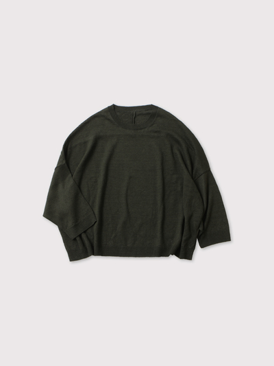 Short sleeve balloon sweater【SOLD】 1