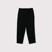 Back gum tapered pants