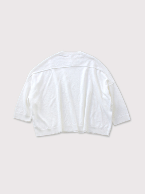 Short sleeve balloon sweater【SOLD】 2