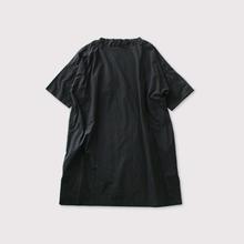 Stand collar box tunic