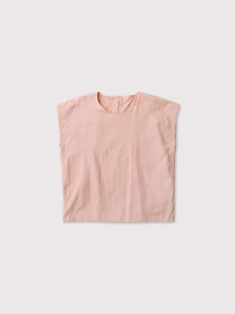 Two ply front nosleeve blouse【SOLD】 2