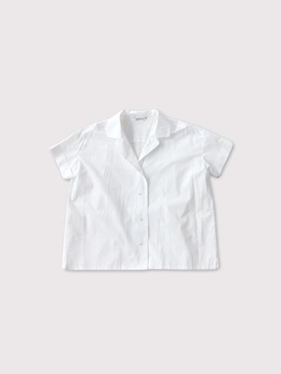 Open collar shirt【SOLD】 2
