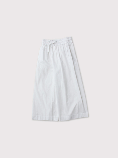 Front string wide pants 1