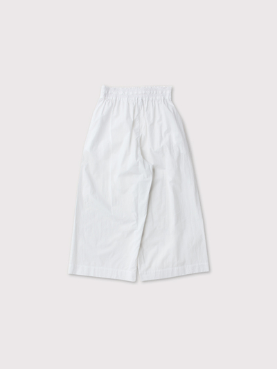 Front string wide pants 3