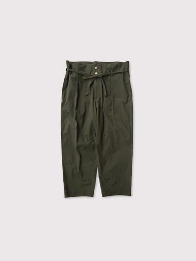 Drawstring tuck pants【SOLD】 1