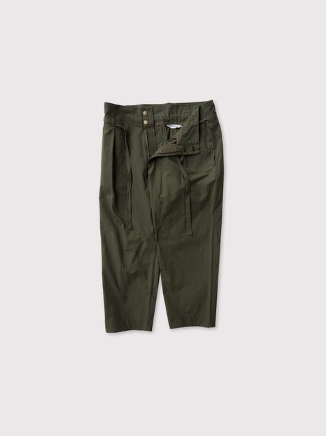 Drawstring tuck pants【SOLD】 2
