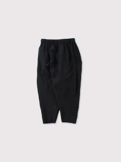 String gather yoke pants 1
