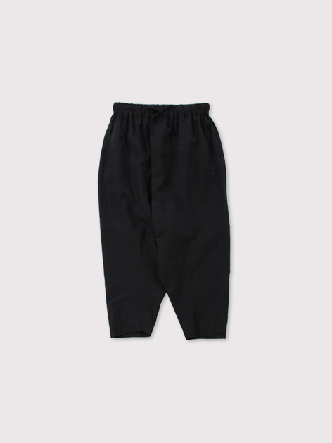 String gather yoke pants 2