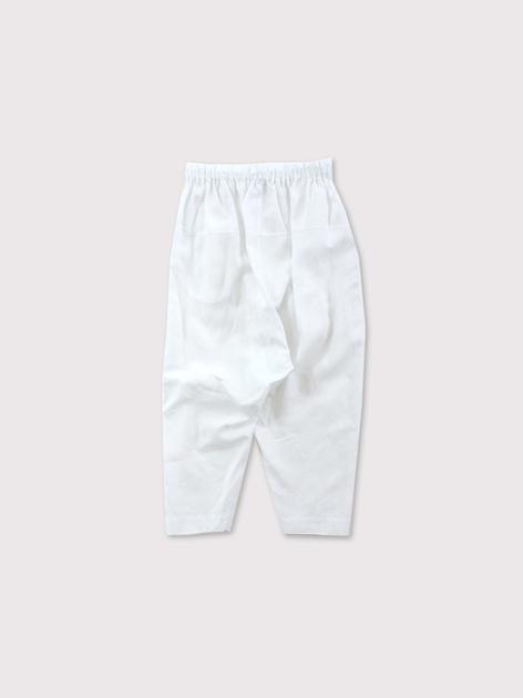 String gather yoke pants 3