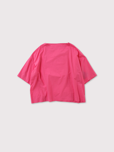 *Boat neck box shirt【SOLD】 1