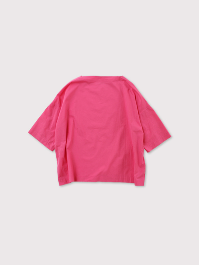 *Boat neck box shirt【SOLD】 3