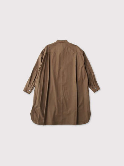 Mini collar tunic shirt 3