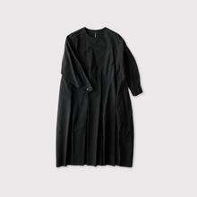 Tuck combi slip-on  dress【SOLD】