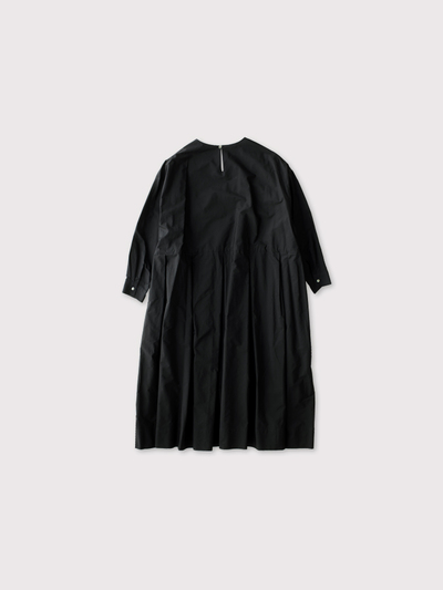 Tuck combi slip-on  dress【SOLD】 3
