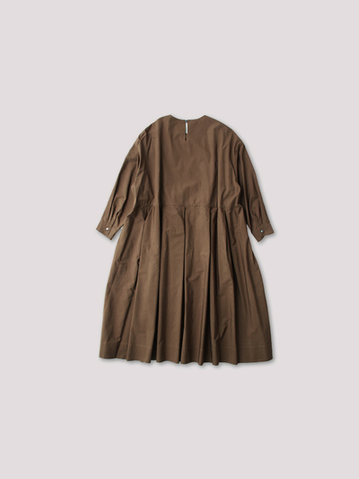Tuck combi slip-on  dress 3