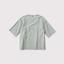 【※】Back button woven T-shirt 3
